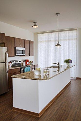 Design House 519884 Kimball 1 Light Semi Flush Mount Ceiling Light, Bronze by Design House (Image #1)
