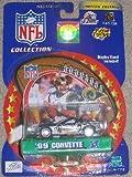 St. Louis Rams Kurt Warner 2000 Winner's Circle NFL Diecast Corvette with Kurt Warner Display Stand