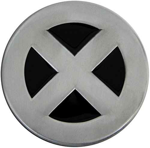Logo Belt Buckle Buckles (oem X Men Pewter Metal Belt Buckle)