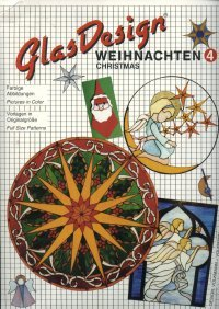GlasDesign Christmas 4 Stained Glass Pattern Book