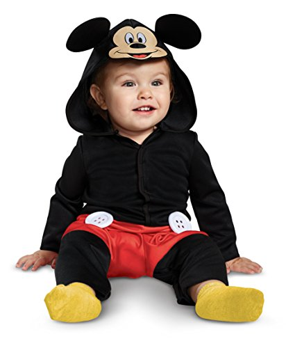 Disguise Mickey Mouse Infant Child Costume, Red, (6-12 -