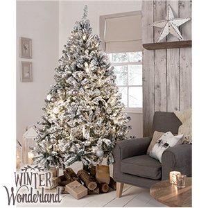 wholesale dealer 226ad 8820d Beautiful Winter Wonderland 7ft Snowy Artificial Christmas ...