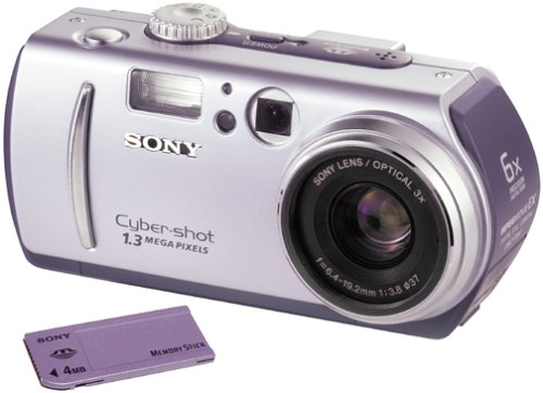 Sony Cyber-shot DCS-P30 1.3MP Digital Camera ()