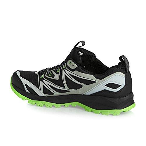 Merrell Capra Bolt Gtx - Zapatillas de senderismo Hombre Black/Silver/Green