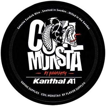 【RBA DIY】COIL MONSTA KANTHAL A1 / 30ft ビルド用ワイヤー (26ga)