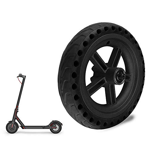 Ourleeme Mi Scooter Tires, Electric Scooter Tire Solid Shock Absorber Honeycomb Tire for Xiaomi M365,Solid Replacement Hub Tyre for M365 Pro Scooter