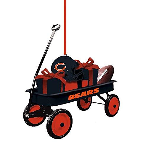 - Team Sports America 3OT3805WGN Chicago Bears Team Wagon Ornament