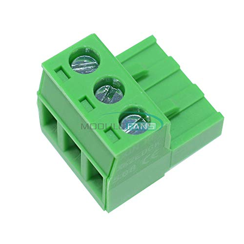 10PCS KF2EDGK KF-3P Right-Angle Plug-in Terminal Connector 5.08mm Pitch NEW