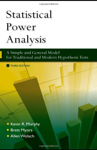 Statistical Power Analysis: A Simple and General Model for Traditional and Modern Hypothesis Tests, Third Edition