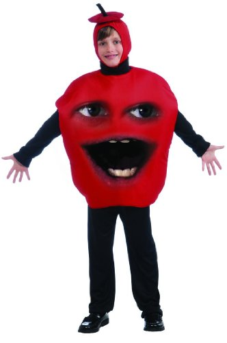 [Annoying Orange Child Apple Costume Mfg3 Size: One Size Fits Most] (Annoying Orange Kids Costumes)