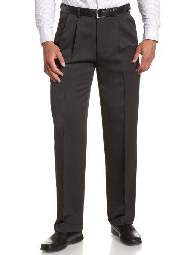 Melange Flat Front Pant - 7