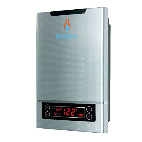 """AB WiseWater Tankless Instant Water Heater Electric 18kW 3/4""""NPT for Domestic Hot Water Heating in Kitchens, Bathrooms, Apartments, Studios"""