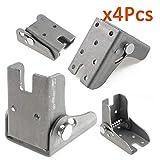 Taco Mocho 2pcs Folding Foldable Support Bracket Screw Lock Extension Table Bed Leg Hinges