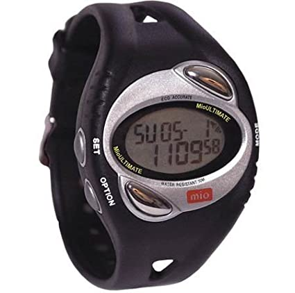 Amazoncom Mio Ultimate Heart Rate Watch with Chest Strap Heart