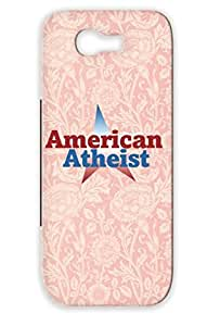 TPU Red For Sumsang Galaxy Note 2 American Atheist Religion Philosophy Atheist USA Miscellaneous Pride Atheism Case Cover