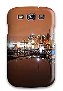 Galaxy Case - Tpu Case Protective For Galaxy S3- Vancouver Coal Harbour Nights