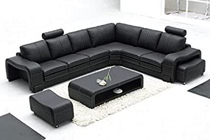HKGN Designer Corner Sofa Set ,7 Seater: Amazon.in: Home ...