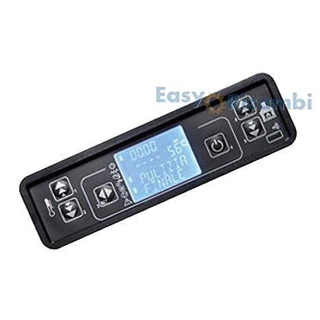Pantalla LCD Teclado Micronova 6 Botones para tarjetas electrónicas Estufa de pellets: Amazon.es: Hogar
