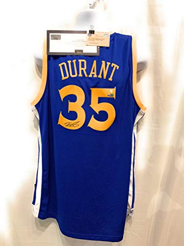 - Kevin Durant Golden State Warriors Signed Autograph Swingman Jersey Steiner Sports & Panini Authentic Certified