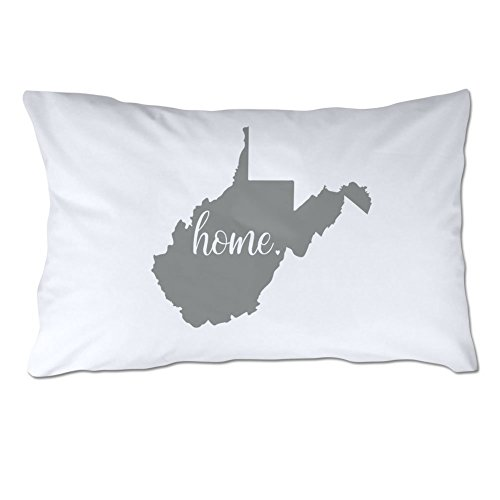 4 Wooden Shoes State of West Virginia Home (West Virginia Pillow)