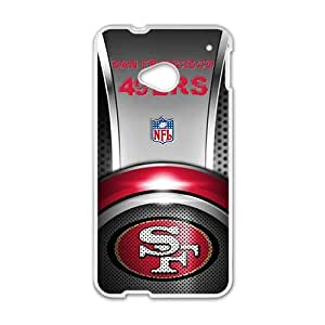 NICKER San Francisco 49ers Cell Phone Case for HTC One M7