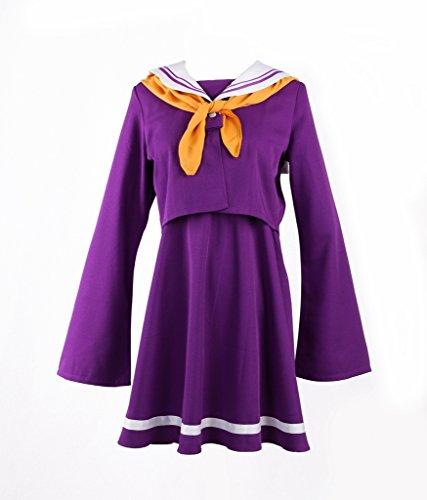 No Game No Life Shiro Costume - Women's Costume Dress for No Game No Life Shiro Cosplay Purple