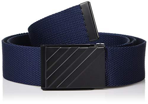 (adidas Golf Webbing Belt, Collegiate Navy, One Size)