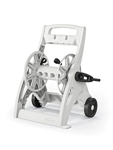 Suncast Commercial Pool Hose Reel White, Standard (Hose Reel Pool)