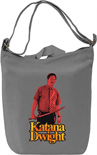 Katana Dwight Borsa Giornaliera Canvas Canvas Day Bag| 100% Premium Cotton Canvas| DTG Printing|