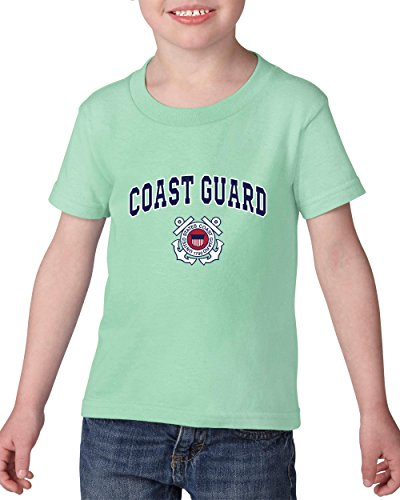 Mom's Favorite United States T-Shirt US Coast Guard Patriotic American Coasties The Guard Gift Heavy Cotton Toddler Kids T-Shirt Tee Clothing