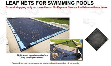87d3d446eb3b3 Amazon.com : 20' x 40' In Ground Swimming Pool Leaf Net 4 Year ...