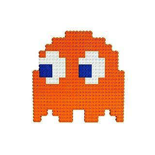 Strictly Briks Pac-Man & BANDAI NAMCO Entertainment Inc | Pac-Man Clyde Ghost - 158 Pieces 3D Briks 2D Build