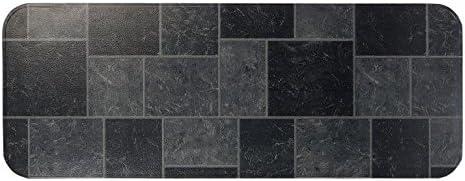 Gray HY-C T2UL1848GT-1C Type 2 Slate Tile Hearth Extender 18 48-Inch
