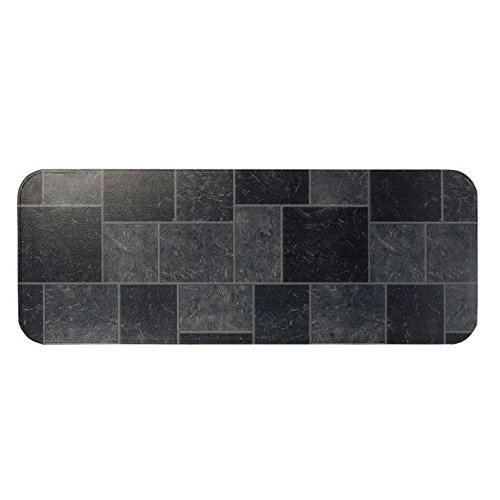 HY-C T2UL1848GT-1C Type 2 Slate Tile Hearth Extender, 18 48-Inch, - Wall Hearth 48 Pad