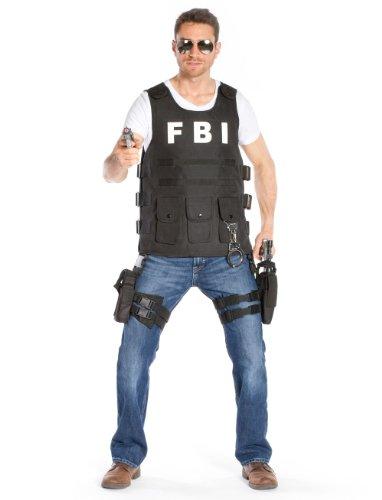 Weste FBI Overhead Herren one size