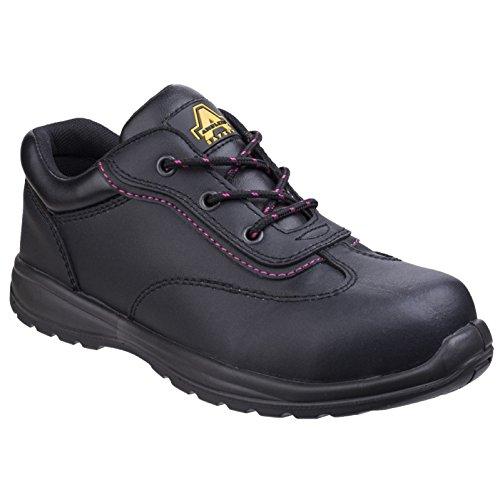 Schuhe Damen Metall Amblers Safety Schwarz Safety Frei xXv5g5Cqw