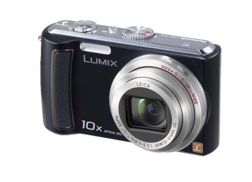 (Panasonic Lumix DMC-TZ5K 9MP Digital Camera with 10x Wide Angle MEGA Optical Image Stabilized Zoom (Black) (OLD MODEL))