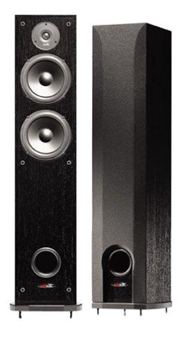 Polk Audio r50双方向Floorstanding Loudspeaker (ブラック) B00007BGSP