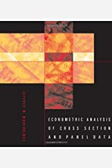 Econometric Analysis of Cross Section and Panel Data Hardcover