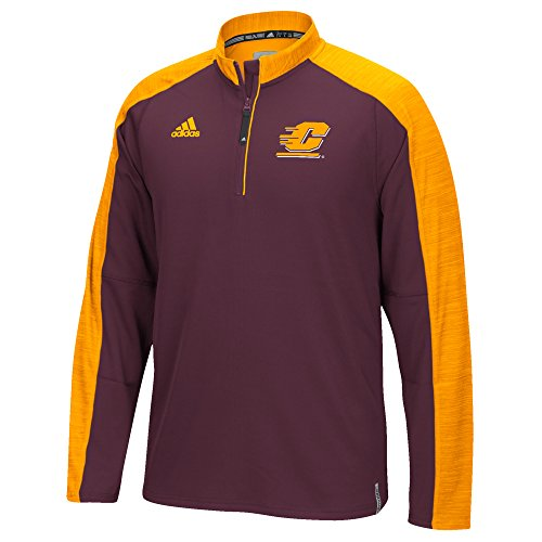 - Adidas Sideline Climalite L/S 1/4 Zip, Large, Maroon