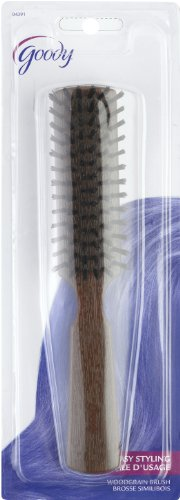 Goody Styling Essentials Hair Brush, Woodgrain Professional