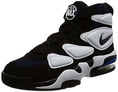 Amazon Com Nike Air Max 2 Uptempo 94 White Black Royal