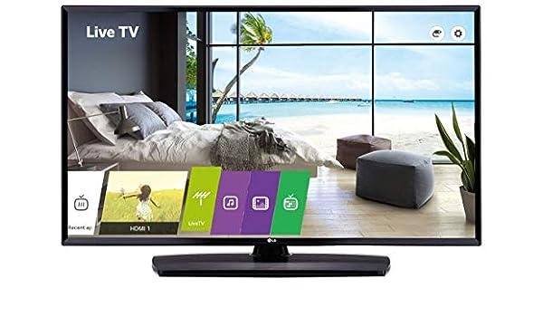 LG 43LU661H televisión para el Sector hotelero 109,2 cm (43
