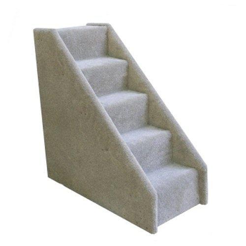 Mini Pet Stairs 5-Step (Grey, 26 in. H x 12 in. W x 26 in. D), My Pet Supplies