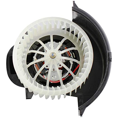 Front Fan Cage - BOXI Heater Blower Motor w/Fan Cage Front for 2007-2010 Audi Q7 / 2004-2010 Volkswagen VW Touareg 7L0820021Q