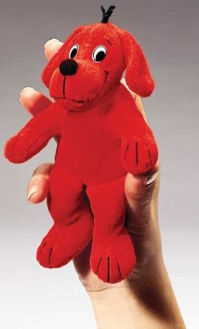 - Clifford The Big Red Dog Finger Puppet Plush toy