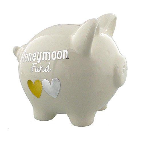 Wendy Jones-Blackett Collection Piggy Bank - Honeymoon Fund ()