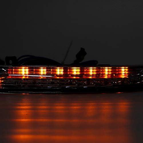EBTOOLS デイタイムランプ2カラーLEDデイタイムランニングライト、パサートCC 2009-2012用