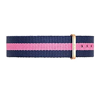Daniel Wellington Classy Winchester Unisex Reloj de pulsera pulseras de piel textil azul de color rosa/Roségold dw00200077