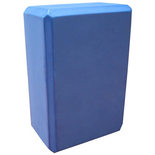 Nu-Source Yoga Block, Sky Blue, 9 x 6 x 3-Inch